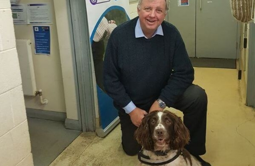 Dorset Police Dog Section - Police and Crime Commissioner Candidate Visit