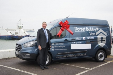 Police and Crime Commissioner Candidate for Dorset - Bobby Van Launch