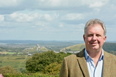 Out in the Community - Overlooking Corfe